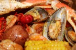 Boiled Seafood by 1/2 LB
