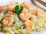 Grilled Shrimp Fried Rice