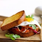 Bacon and Egg Sandwhich