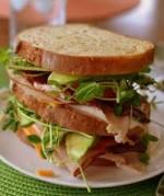 Sunny California Avocado Sandwich